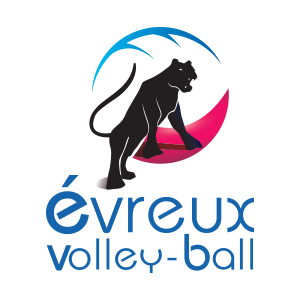 logo evreux volley ball