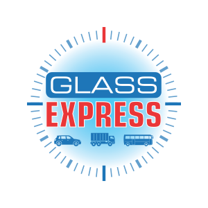 logo glass express fond transparent