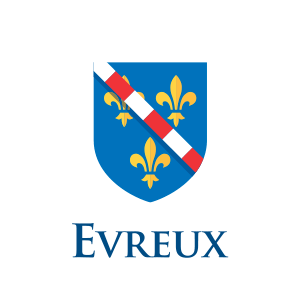 ville evreux logotype communication