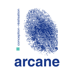 arcane communication logotype